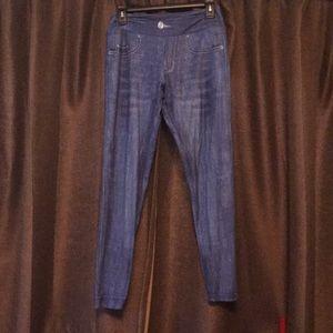 Pants - Charlie's Project Jean Look Alike Leggings